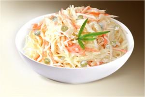 """Салат """"Серпуховской"""" (капуста, морковь, горошек, м-з)150 г"""