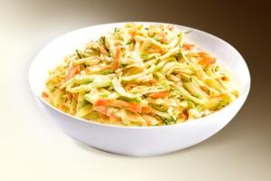 Салат «Веге» (огурец, морковь, кит.салат, м-з) 150 г