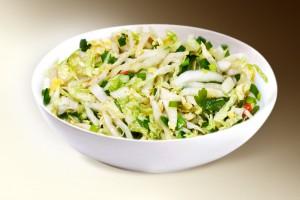"""Салат """"Здоровье"""" (капуста, яблоко, сельдерей, зелень, р-м)  150 г"""