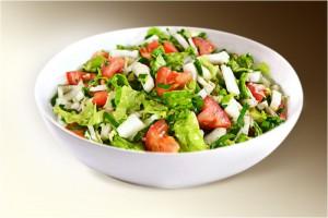 """Салат """"Овощной букет"""" (помидоры, огурцы, сл.перец, р-м) 150 г"""