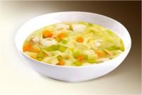 Суп «Лапша куриная» (куры, картофель, лапша, морковь, лук, специи) 300 г