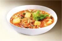 Суп «Щи ленивые» (капуста, картофель, помидор, лук, морковь, сельдерей, специи) 300 г