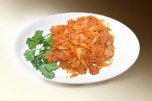 Бигос (капуста, морковь, лук, сосиски, сметана, томат, чеснок, специи) 250 г