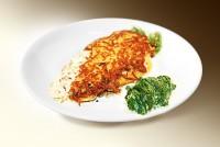 Рыба жареная в сырной корочке (рыба, яйцо, сыр) 120 г