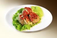 Тефтели с базиликом и чесноком (свин, гов, яйцо, специи, базилик, чеснок) 120 г