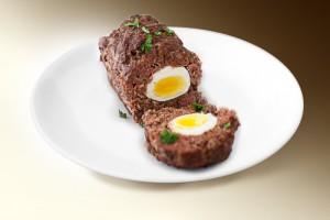 Мясной рулет с яйцом (свин., говяд, лук, яйцо, специи) 120 г