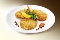 Котлета «Русалочка» (рыба, яйцо, хлеб, панировка, специи) 120 г