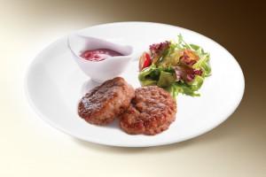 Мясные котлеты с тыквой (свин, говяд, яйцо, тыква, чеснок, специи, мука) 120г