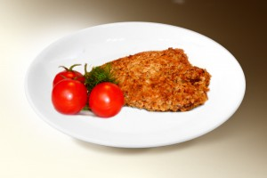 Куриное филе «Фантазия» (филе кур., м-з, геркулес, чеснок, зелень, специи) 120 г