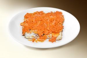 Рыба под маринадом (минтай, морковь, лук, соль, сахар, соус) 100/20 г